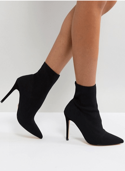LYSPSY Stretch black boots